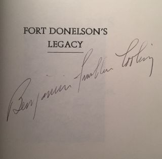 Fort Donelson's Legacy: War and Society in Kentucky and Tennessee, 1862-1863 (SIGNED 1ST PAPERBACK EDITION)