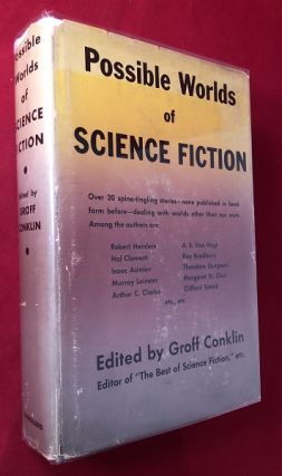 Possible Worlds of Science Fiction; Over 20 spine-tingling stories - none published in book form...