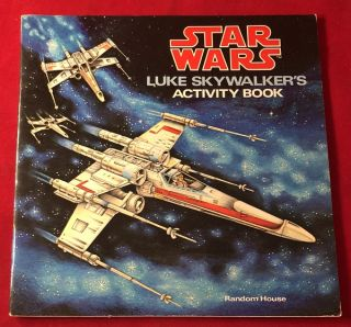 Star Wars: Luke Skywalker's Activity Book (AS NEW COPY - NEVER USED). James RAZZI