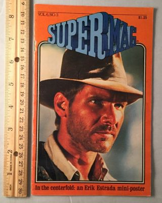 SuperMag Vol. 6, No. 2 (HARRISON FORD COVER WITH FULL COVERAGE OF INDIANA JONES AND THE RAIDERS...