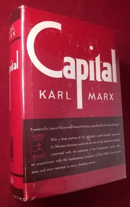 Capital: A Critique of Political Economy. Karl MARX
