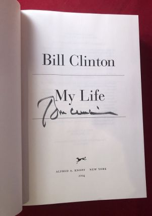 My Life (SIGNED 1ST)