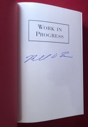 Work in Progress (SIGNED FIRST EDITION)