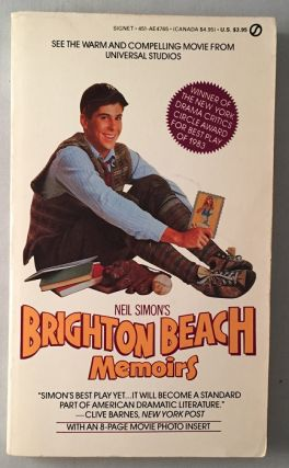 Brighton Beach Memoirs (OFFICIAL MOVIE TIE-IN EDITION). Neil SIMON