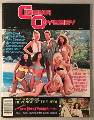 Cinema Odyssey Magazine (ISSUE #1). Magazines, Roger WONG, Buddy WEISS, et all.