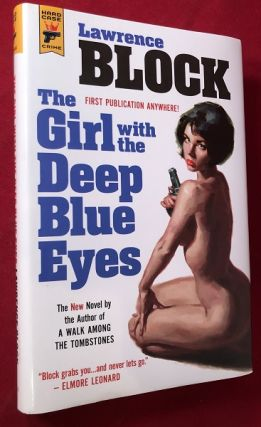 The Girl with the Deep Blue Eyes (SIGNED FIRST HARDCOVER EDITION). Detective, Mystery