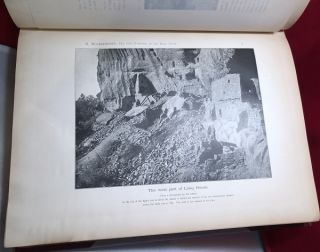 """The Cliff Dwellers of The Mesa Verde / Southwestern Colorado / Their Pottery and Implements (SIGNED BY ADOLF ERIK NORDENSKIOLD TO FINNISH INDEPENDENCE LEADER KONRAD """"KONNI"""" VIKTOR ZILLIACUS)"""