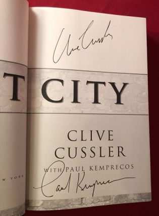 The Lost City: A Kurt Austin Adventure (SIGNED BY BOTH AUTHORS)