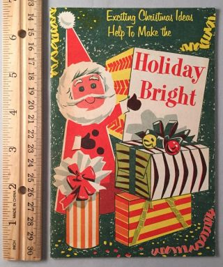 1966 Holiday Bright Booklet from Gulf Oil. GULF OIL