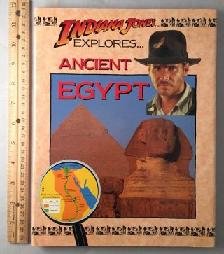 Indiana Jones Explores Ancient Egypt. John MALAM