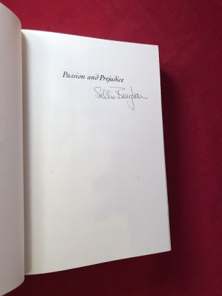 Passion and Prejudice (SIGNED 1ST)