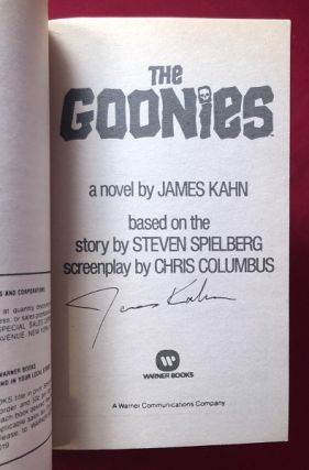 The Goonies (SIGNED 1ST)