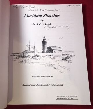 Maritime Sketches (SIGNED 1ST)