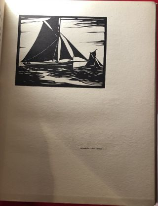 Fishing Boats & Barges from the Thames to Land's End (WOODCUTS BY C.A. WILKINSON)