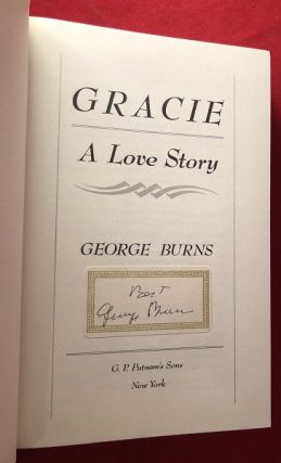 Gracie: A Love Story (SIGNED BOOKPLATE)