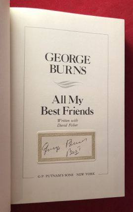 All My Best Friends (SIGNED BOOKPLATE)