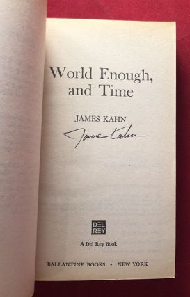 World Enough and Time (SIGNED 1ST)