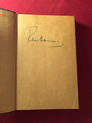 Rex: An Autobiography (SIGNED 1ST PRINTING)