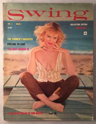Swing Magazine Vol. 1 Issue 1. Ralph RAWLINGS, F. Marion CRAWFORD, et all.