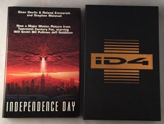 Independence Day (SIGNED LIMITED EDITION). Science Fiction, Dean DEVLIN, Roland EMMERICH, Stephen MOLSTAD.