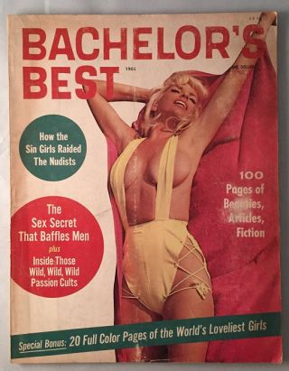 Bachelor's Best Vol. 1, No. 3. Max CARTER, G. W. HANSEN, et all