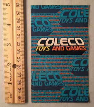 Official 1978 Coleco Toys and Games Fold-Out Product Catalog; THIRD AND FINAL PHASE OF THE...