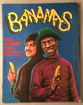 Bananas Magazine ISSUE #1. Robert REDFORD, Jimmie WALKER, et all