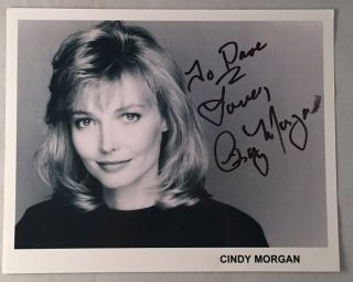 "Cindy Morgan Autographed 8X10 Promo Photo; ""Lacey Underall"" in Caddyshack! Cindy MORGAN."