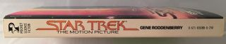 Star Trek: The Motion Picture (Signed 1st OFFICIAL Movie Tie-In); The Human Adventure is Just Beginning