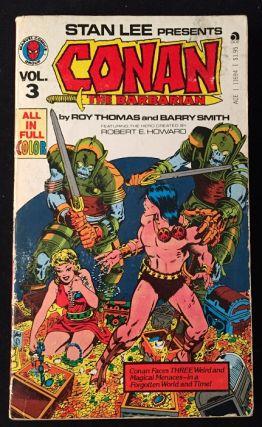 Stan Lee Presents CONAN: The Barbarian VOL. 3. Comics, Graphic Novels, Roy THOMAS, Barry SMITH,...