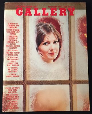 Gallery Magazine ISSUE #2 (December, 1972). F. Lee BAILEY, James KAHN, et all