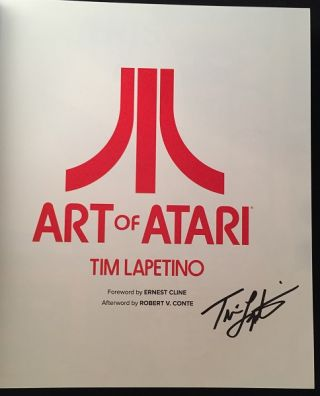 Art of Atari (SIGNED FIRST EDITION)