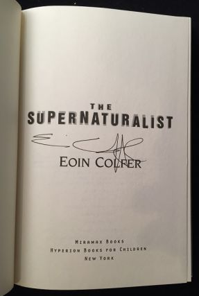 The Supernaturalist (SIGNED FIRST AMERICAN EDITION)