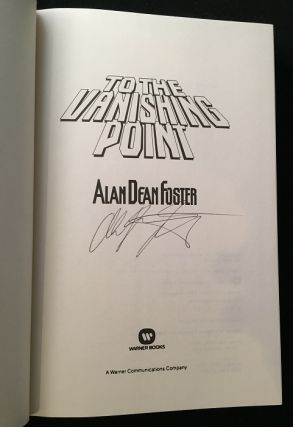 To the Vanishing Point (SIGNED FIRST EDITION)