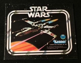 Original 1978 Kenner Original 12-Figure Toy Catalog. George LUCAS