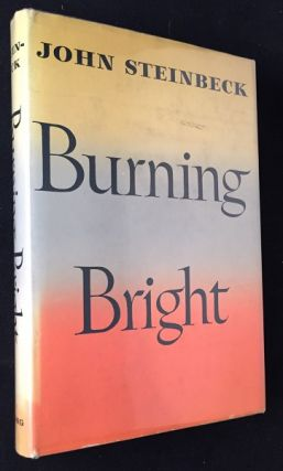 Burning Bright (FIRST EDITION, FIRST PRINTING). Literature, John STEINBECK.
