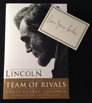 LINCOLN: A Steven Spielberg Film (Based in Part on Team of Rivals). Doris Kearns GOODWIN, Steven...
