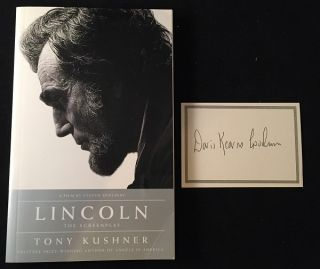 LINCOLN: The Screenplay (Introduction by Doris Kearns Goodwin). Tony KUSHNER, Doris Kearns GOODWIN
