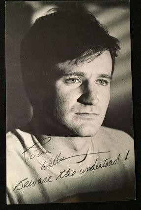 The World According to Garp PROMOTIONAL FILM POSTCARD (1982). 80's Curiosa, Robin WILLIAMS, John IRVING.