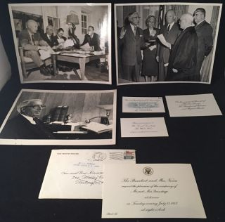 Personal Letters and Ephemera from the Collection of Percival Brundage, Director of the US Office of Management and Budget under Eisenhower
