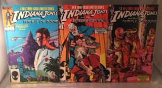 Indiana Jones and the Temple of Doom (Original 1984 3-Volume Comic Adaptation). David MICHELINIE,...