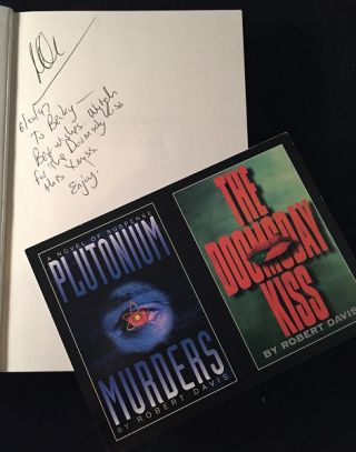 Plutonium Murders (SIGNED FIRST EDITION)