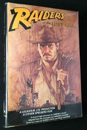 Raiders of the Lost Ark (SIGNED BY SCULPTOR BRIAN MUIR). George LUCAS, BLACK, Campbell, Lawrence...